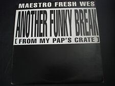 "MAESTRO FRESH WES ANOTHER FUNKY BREAK 12"" RECORD"