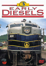 Early Diesels Volume 3 DVD NEW Greg Scholl Alco S2 FPA4 FP7 FP9 E9 GP40