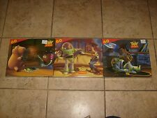 3 DISNEY TOY STORY PUZZLES LOT PIXAR MOVIE SET NEW MISB FREE S/H GREAT GIFT BUZZ
