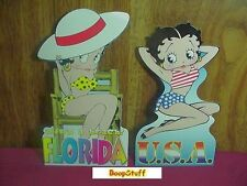 BETTY BOOP POST CARDS TWO PIECE SET #01 DIE CUT (RETIRED)