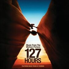 127 Hours Soundtrack/Score by A.R. Rahman (CD,2010,Interscope) LIKE NEW