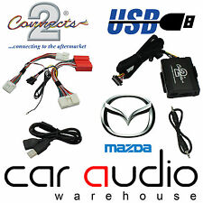 Connects2 CTAMZUSB002 Mazda 6 2009 Onward USB Aux In Input Car Interface Adaptor