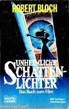 """Robert Bloch - """" Unheimliche LUCI DI OMBRA - Romanzo ad un Film """" (1983) - tb"""