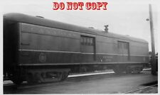 6G636 RP 1950s CANADIAN NATIONAL RAILROAD EXPRESS CAR 8778 MONCTON NEW BRUNSWICK