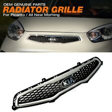 OEM Genuine Parts Front Radiator Hood Mesh Grille Trim for KIA 2011-2015 Picanto