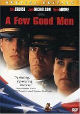 Few Good Men  DVD Tom Cruise, Jack Nicholson, Demi Moore, Kevin Bacon, Kiefer Su