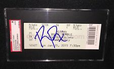 ROMAN REIGNS SIGNED 2015 WWE ROYAL RUMBLE WINNER TICKET SGC AUTHENTICATED