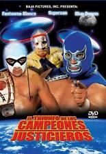 El Triunfo De Los Campeones Justicieros DVD NEW Blue Demon Fantasma Blanco