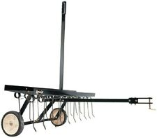 Agri-Fab 40 in. Tow Behind Lawn Dethatcher Universal Hitch Easily Attaches