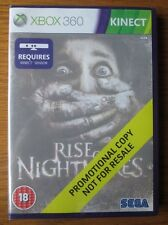 Rise of Nightmares PROMO – Xbox 360 ~ NEW & SEALED (Promotional Copy) Full Game
