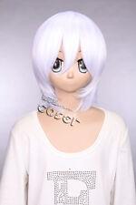 W-10-1001 weiß white 33cm COSPLAY Perücke WIG Perruque Haare Hair Anime Manga