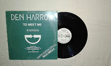 "Den Harrow ‎– To Meet Me  - Disco Mix 12"" 33 Giri Vinile Stampa ITALIA 1983"