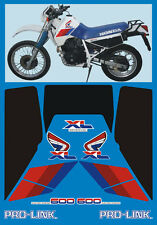 Honda XL 600 RM 1986/90 modello Bianco - adesivi/adhesives/stickers/decal