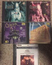 5 CD Lot. GREAT MUSIC!! Chiller by Erich Kunzel (Conductor)