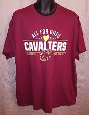 Cleveland Cavaliers Cavs All For Ohio Promo T-Shirt NWOT - Mens XL