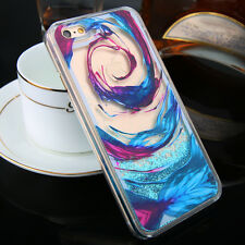 Dynamic Liquid Glitter Quicksand Clear Hard Phone Case Cover For iPhone 6s Plus