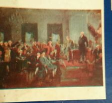 """Vintage Perfect Picture Puzzle, Signing of the Constitution, 19.5"""" x 15.5"""", 375"""