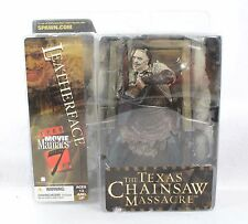 McFarlane Movie Maniacs LEATHERFACE Series 7 Figure Texas Chainsaw Massacre
