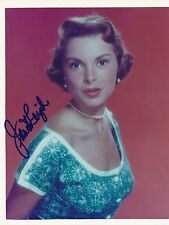 Janet Leigh signed 8x10 color photo