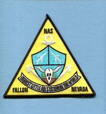 NAS NAVAL AIR STATION FALLON NV US Navy Base Squadron Patch 4.5""