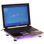 USB 828 1 18cm Big-Fan with Blue LED Cooling Cooler Pad Stand for Laptop 15.4