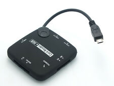 schede MS SD TF lettore + On The Go USB HUB Samsung Galaxy Tab 3 Tab 4 8.0 T310