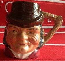 """3 1/2"""" Cooper Clayton Farmer Giles Character Toby Mug Cup Sterling England"""