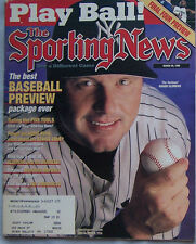 1999 Sporting News Roger Clemens Yankees Final Four Preview  AAA41