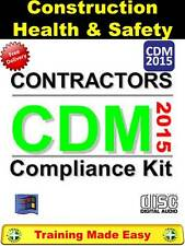 UK New CDM Construction Design Management 2015 REGS Updated - Training Made Easy