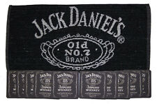 JACK DANIELS WHISKY OLD NO.7 Pub Bar Towel & 10 matching Beer Mat Coasters