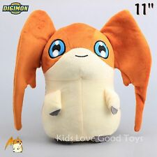 "Anime Digimon Adventure Digital Monster Patamon 28cm/11"" Plush Toy Stuffed Doll"