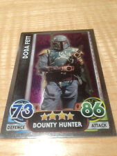 STAR WARS Force Awakens - Force Attax Trading Card #177 Boba Fett