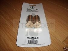 Bisley Brass 12 Gauge SNAP CAPS 12g Shotgun PAIR