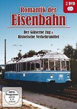 2 DVDs * ROMANTIK DER EISENBAHN - Der Gläserne Zug + Historische   # NEU OVP ~