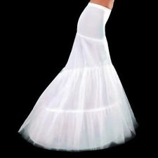 New 2 Hoop Mermaid Petticoat Bridal Wedding Dress Crinoline Underskirt Tutu Slip