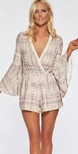 New L Space Swimsuit Bikini Cover Up Romper Size M CRM Lovestruck Rimini