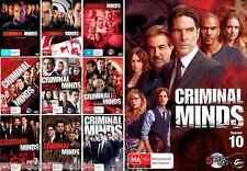 Criminal Minds - Complete Seasons 1 2 3 4 5 6 7 8 9 10 : NEW DVD