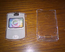 Clear Motorola V3 Express on cover NEW UK