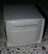 "PANDORA JEWELRY LIMITED EDITION CREAMY SATIN CHARM/BEAD ""GIFT BOX W/SLEEVE ONLY"""