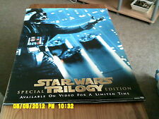Star Wars Trliogy (Darth Vader)  Movie Poster