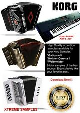 Korg Accordion Samples Gabbanelli ,Hohner & Weltmeister