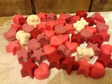 Handmade STRONGLY SCENTED 100% Soy Wax melts *Floral *FRAGRANCES* 35 pack BULK