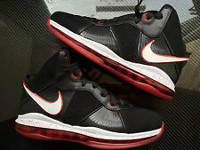 2010 Nike LeBron 8 VIII Black Sport Red Size 10. 417098-002 bhm all star kyrie