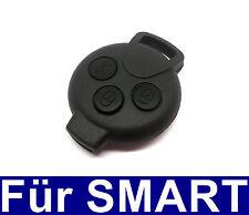 3T Llave Del Coche Control remoto Carcasa para 451 Smart ForTwo, ForFour Roads