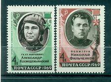 Russie - USSR 1969 - Michel n. 3601/02 - Héros de l'Union soviétique **