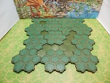 93 Hexes of Heroscape Swamp and Swamp Water Terrain Tiles