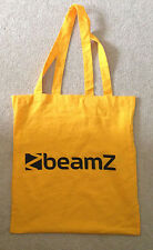 Beamz yellow cotton tote bag