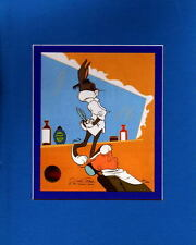 BUGS BUNNY - RABBIT Of SEVILLE IV PRINT PROFESSIONALLY MATTED Looney Tunes Elmer