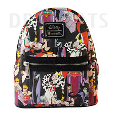 Disney Villians Evil Queen, Queen of Hearts Mini Backpack by Loungefly NEW!