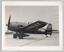 1950's GRUMMAN F6F-5K HELLCAT DRONE Vintage OFFICIAL US NAVY Photo / NAS OCEANA